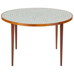 Tile-Top Dining Table by Gordon & Jane Martz for Marshall Studios