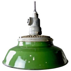 1930s Crouse Hinds Industrial Pendant Lights
