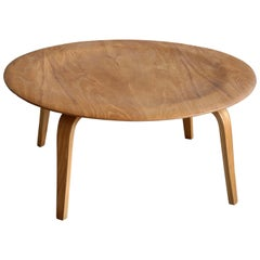 Early Charles Eames Herman Miller Molded Plywood Coffee Table by Evans Products