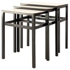 Set of Three Joaquim Tenreiro Nesting Tables