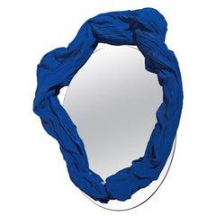 Wand Spiegel Tertium Quid S3, 04 Porzellan blau