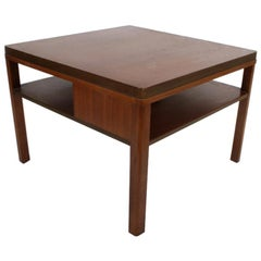 Edward J. Wormley for Dunbar, 1940s Bookshelf End Table