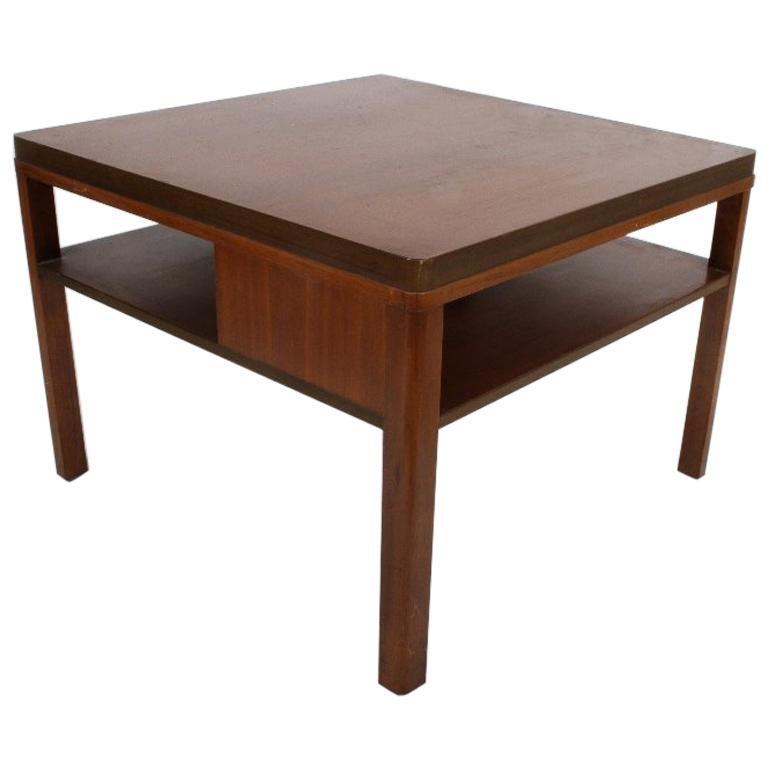 Edward J. Wormley for Dunbar, 1940s Bookshelf End Table For Sale