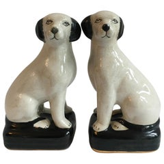 Pair of Dog Bookends