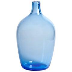 Yali Murano Hand Blown Monastiri #3 Vase Blue