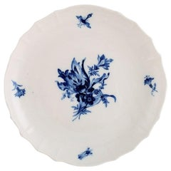 Meissen Blue Onion Low Porcelain Bowl, circa 1920