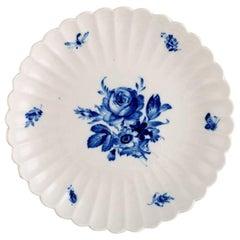 Meissen Low Fluted Porcelain Bowl, circa 1920