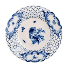 Meissen Pierced or Reticulated Plate