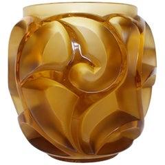Lalique Tourbillons Vase