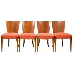 Set of Four Art Deco Dining Chairs H 214