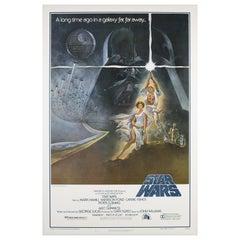 Star Wars US 1 Sheet Style A '1st Printing' Original Film Poster, Jung, 1977