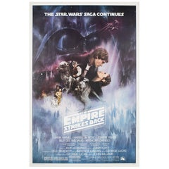 """The Empire Strikes Back"" US Film Poster, Roger Kastel, 1980"