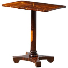William IV Laburnum Side Table, circa 1830