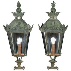 Pair of Regency Lanterns, circa 1820