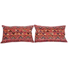 Antique Sind Pillows Fashioned from a Late 19th Century Embroidery, India