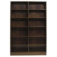 Pair of Danish Rosewood Bookcases by Omann Jun