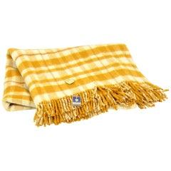 100% Wool Blanket Manufactured by Krásná Jizba, Czechoslovakia, 1970s