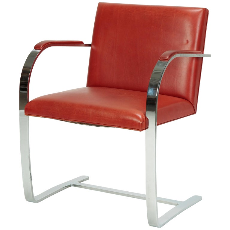 Mies Van Der Rohe Brno Chair Crosscountry Knoll Int 1960er Jahre