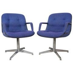 Randall Buck 1970er Jahre Design Paar Sessel 451 Modell von Strafor