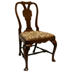 Early 18th Century Queen Anne Walnut Chair