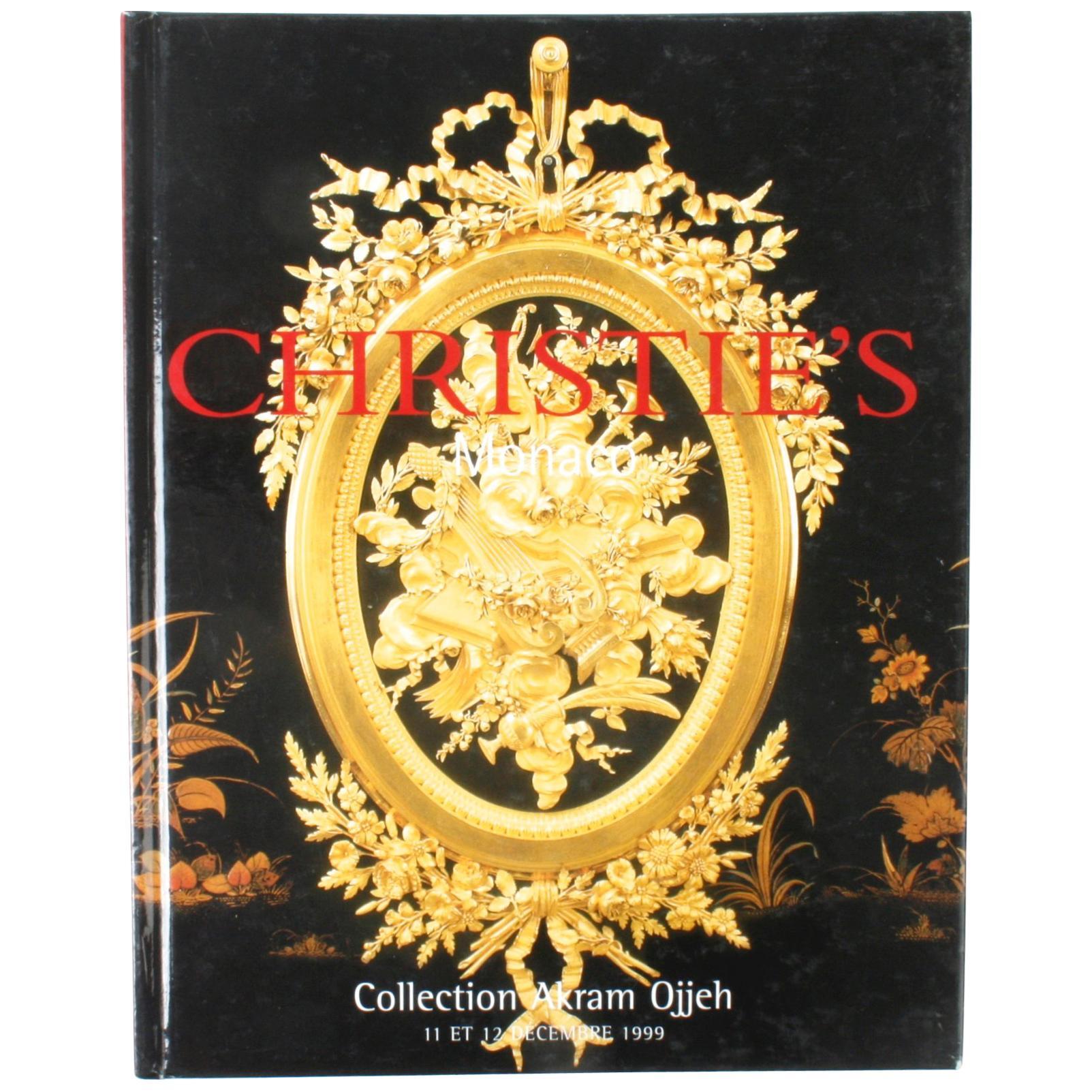 Christie's Monte Carlo, Collection Akram Ojjeh