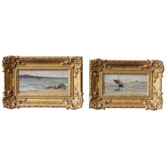 Pair of 19th Century English Seascapes