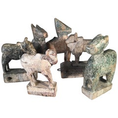 Carved Wood Toys, India