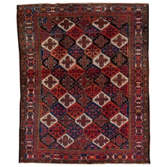 Fine Antique Baktiary Carpet