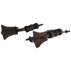 Antique Tibetan Locks in Iron