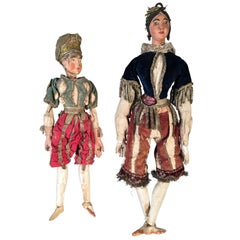 Antique Italian Puppets, 19th Century