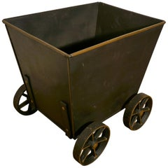 Great Little Blacksmith Made Coal Wagon, Coal Scuttle