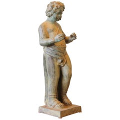 Early 20th Century Italian Bronze Fountain