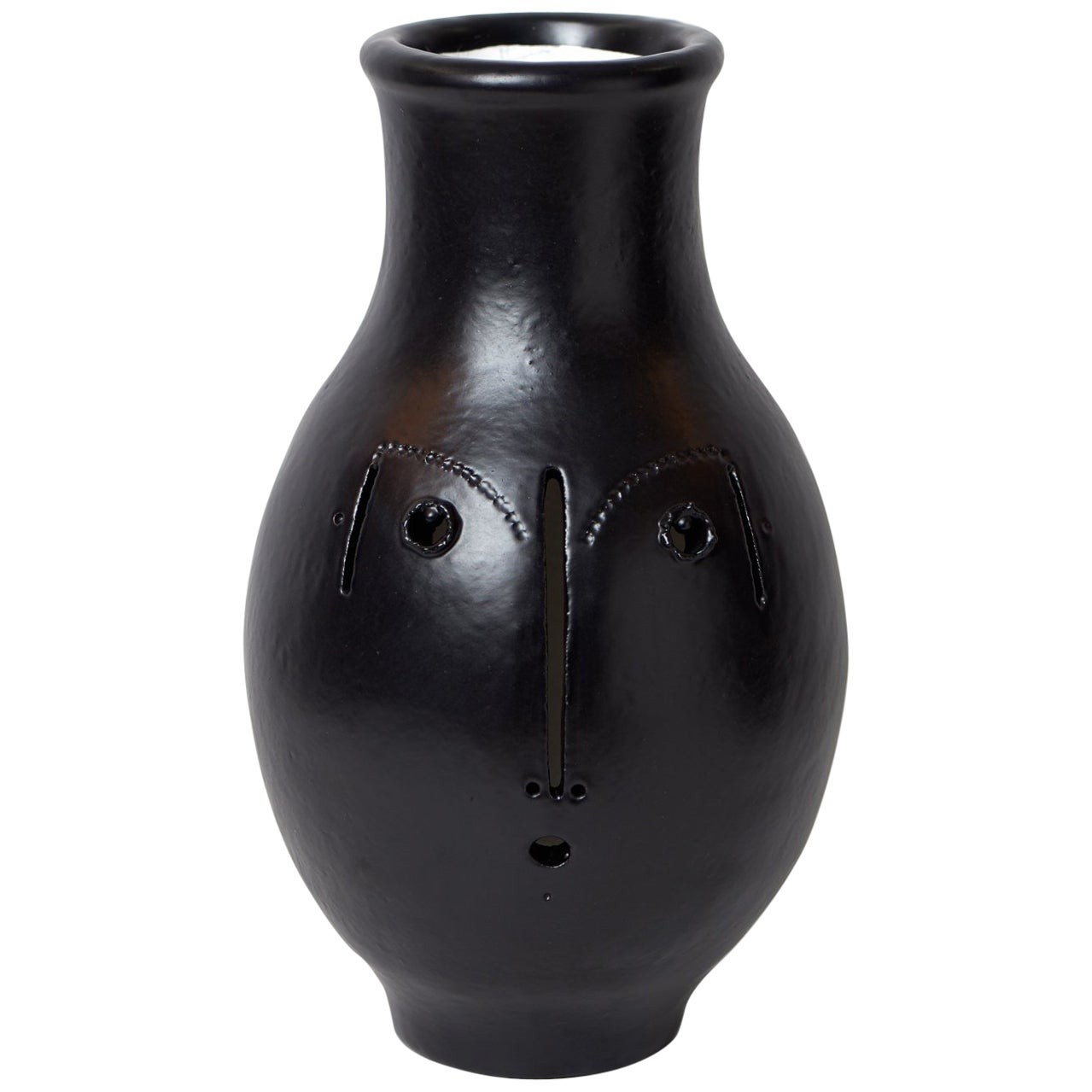 Large One of a Kind Ceramic Vase Signed by Dalo