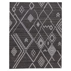 21st Century Modern Indian Flat-Weave Rug