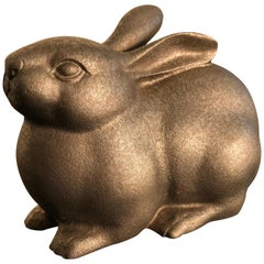Big Bold Alert Rabbit from Japan, Handsome and Finely Sculpted