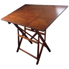 Drafting Table by Keuffel Esser, of Southern Plantation Pine, circa 1900s