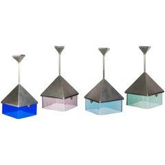 Murano Glass Pendant Signed Giovani Campus