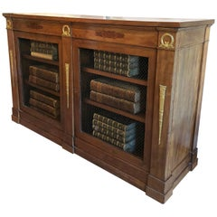 Empire Mahogany Bookcase