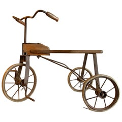 Early 20th Century, Rare Antique Child Bicycle