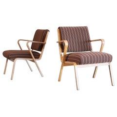 Bauhaus Easy Chairs Selman Selmanagic for VEB Deutsche Werkstätten Hellerau DDR