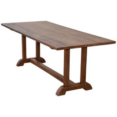 Dining Table Made from Vintage Heart Pine, Built to Order by Petersen Antiques