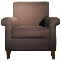 Italy by DD Dimore Linen Upholstery Club Chairs Armchair