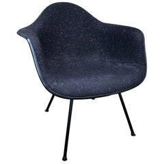 "Herman Miller Eames DAX Armchair in Elephant Grey with ""Starry Night"" Girard"