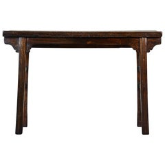 18th Century Chinese Elm Altar Table