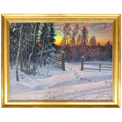"""Winters Glow"" by Anselm Schultzberg"