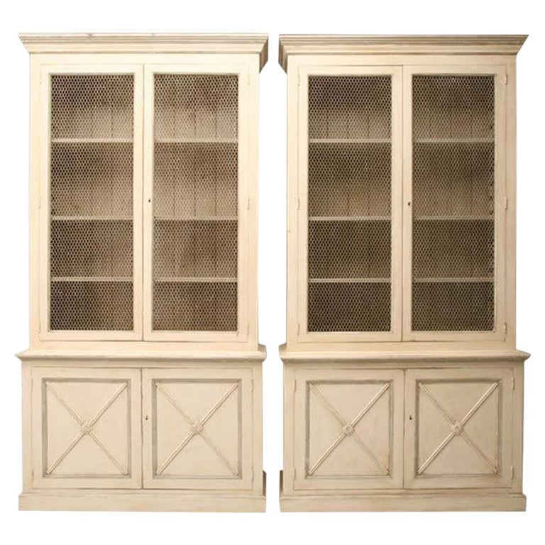 Directoire Style Bookcases