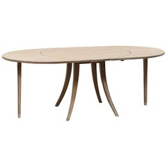 French Midcentury Transitional Modern Dining or Center Table
