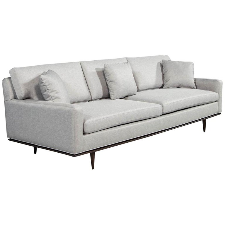 Vintage American Mid-Century Modern Sofa For Sale at 1stdibs