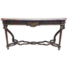 Italian Neoclassical Style Long Console, 19th Century