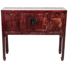 Late Qing Dynasty Console Chest
